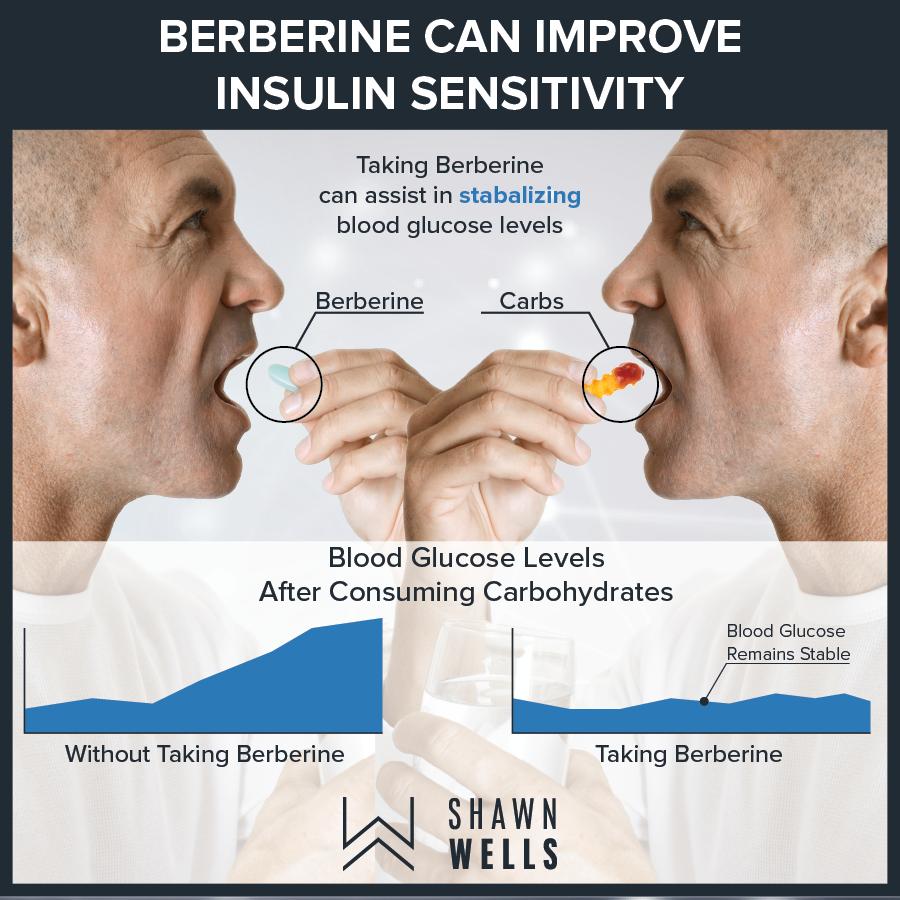 Berberine can improve insulin sensitivity