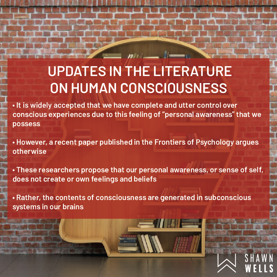 Updates in the literature on human consciousness