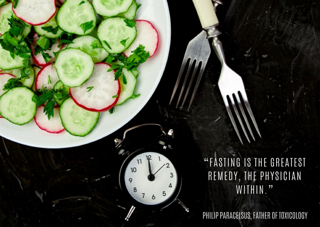 """Fasting is the greatest remedy, the physician within."""