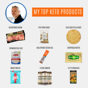 My top keto products