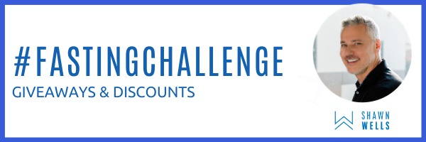 #FastingChallenge Discounts and giveaways