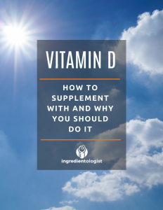 Vitamin D - How to Supplement with and why you should do it