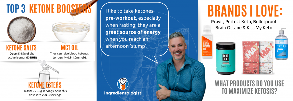 TOP 3  KETONE BOOSTerS