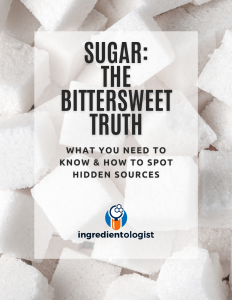 what is and how to spot hidden sources of sugar