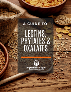 A guide to Lectins, Phytates and oxalates