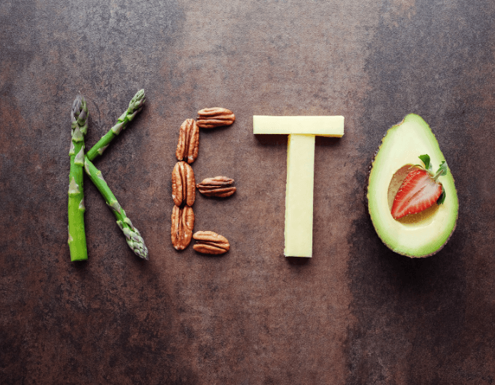The keto diet, high-fat low-carb diet